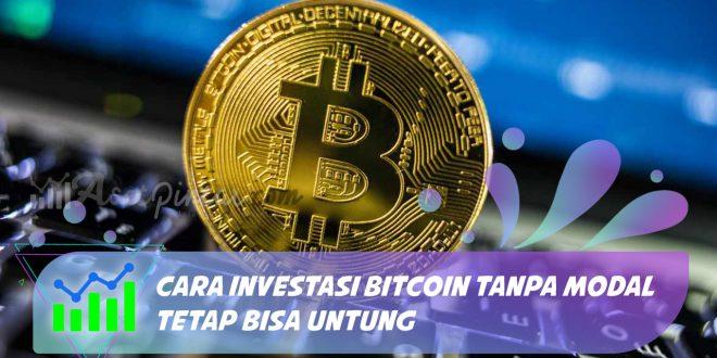 trading btc tanpa modal