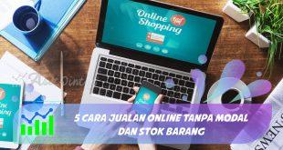 cara jualan online tanpa modal dan stok barang