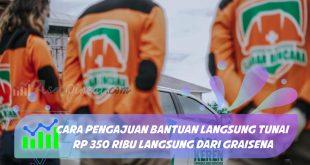 cara pengajuan Bantuan Langsung Tunai Rp 350 Ribu langsung dari GRAISENA