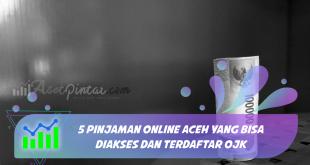 5 Pinjaman Online Aceh yang Bisa Diakses dan Terdaftar OJK