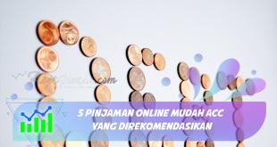 5 Pinjaman Online Mudah ACC yang Direkomendasikan