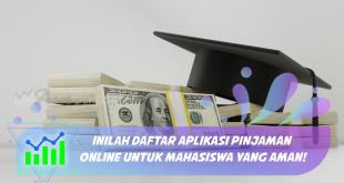 aplikasi-aplikasi pinjaman online muncul dan mencari peluang untuk bisa menjadi solusi keuangan bagi mahasiswa. Berikut ini adalah beberapa aplikasi pinjaman online untuk mahasiswa yang aman: