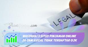 Pinjaman Online 24 Jam